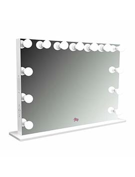 Lfv Selena Xl Vanity Mirror W/Bluetooth, Dimmable Led Bulbs, 2 120v Outlets And 2 Usb Ports by Love For Vanity
