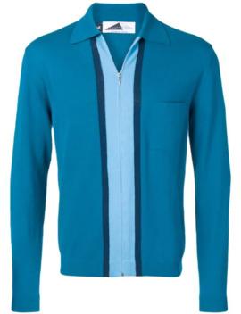 Decima Zipped Cardigan by Anglozine