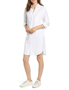 Relaxed Button Up Shirtdress by Frank & Eileen Tee Lab