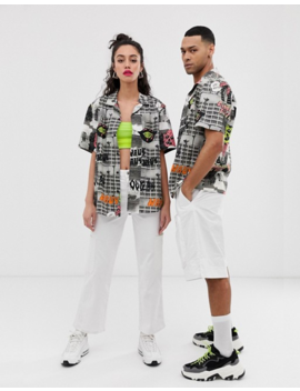 Collusion Unisex Photographic Print Shirt by Collusion