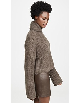 Sunny Cashmere Knit Turtleneck by Sablyn