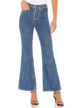 70s Ultra High Rise Bell Bottom by Re/Done