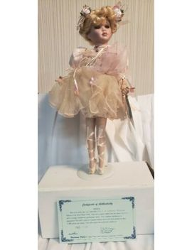 "Porcelain Doll Duck House With Coa Limited Edition Heirloom 17"" Original Box by Ebay Seller"