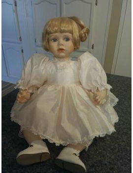 Brinns Toddler Size Sitting Porcelain Doll by Ebay Seller
