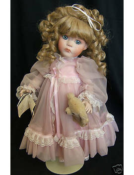 "Original All Porcelain Doll By Shirley Wing ""Lindsey"" by Ebay Seller"