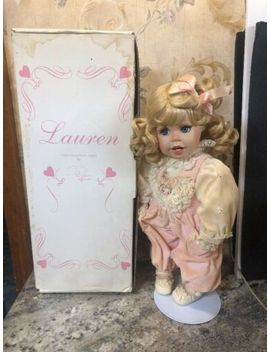 "The Hamilton Collection Lauren 15"" Porcelain Doll by Ebay Seller"