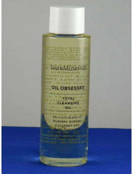 Bare Minerals Oil Obsessed Total Cleansing Oil Travel Size 100ml / 3.3fl Oz New by Bareminerals