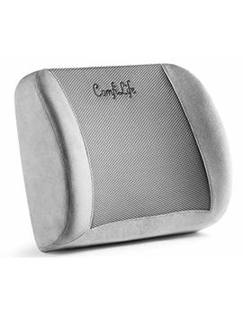 Comfi Life Lumbar Support Back Pillow Office Chair And Car Seat Cushion   Memory Foam With Adjustable Strap And Breathable 3 D Mesh by Comfi Life