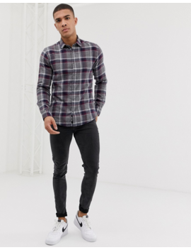 Only &Amp;Amp; Sons Checked Shirt by Only &Amp; Sons