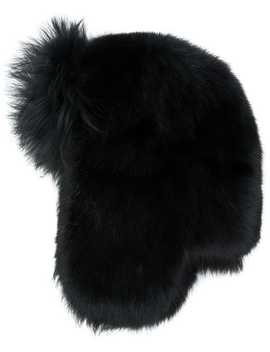 Fur Yeti Hat by Saint Laurent