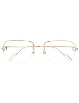 Metallic Frame Glasses by Cartier