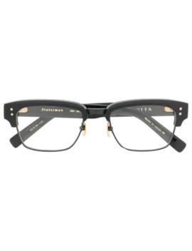 Statesman Restangular Glasses by Dita Eyewear