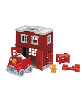 Green Toys Fire Station Playset by Green Toys