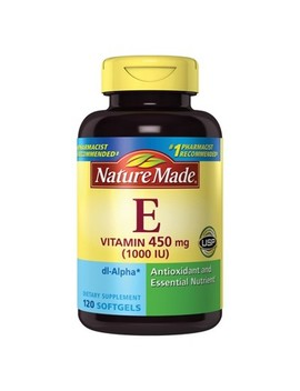 Nature Made Vitamin E Dietary Supplement Liquid Softgels   120ct by 120ct