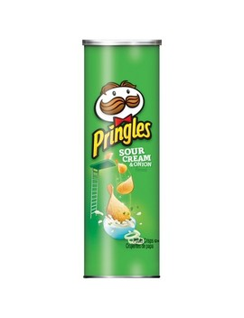 Pringles Sour Cream &Amp;Amp; Onion Potato Crisps   5.5oz by 5.5oz
