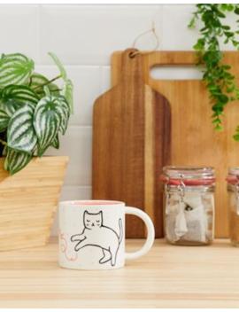 Sass &Amp; Belle Cutie Cat Feline Good Mug by Sass & Belle