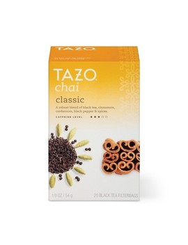 Tazo Chai Black Tea   20ct by 20ct