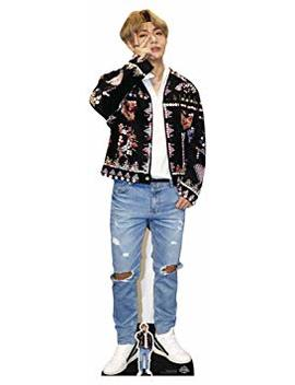 Lifesize Cardboard Cutout With Free Desktop Cutout Of Kim Taehyung (V) Bts Bangtan Boys by Star Cutouts