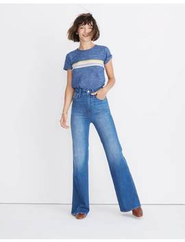 "11"" High Rise Flare Jeans by Madewell"