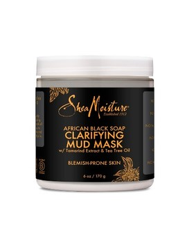 Shea Moisture African Black Soap Clarifying Mud Face Mask   Tamarind &Amp; Tea Tree Oil   6oz by Tamarind & Tea Tree Oil