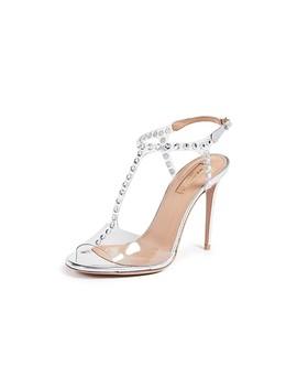 Shine 105mm Sandals by Aquazzura