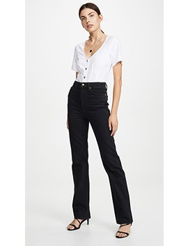 Danielle Stovepipe Jeans by Khaite