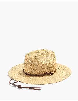 Madewell X Biltmore® Raffia Lifeguard Hat by Madewell