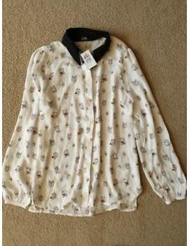 Brand New With Tag Dotti Pattern Shirt   Size 8 by Dotti