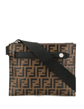 Ff Striped Belt Bag by Fendi