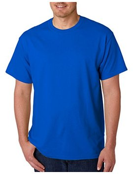 Gildan Men's Heavy Taped Neck Comfort Jersey T Shirt by Gildan