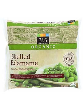 365 Everyday Value, Organic Shelled Edamame, Blanched Shelled Soybeans, 12 Oz, (Frozen) by Amazon