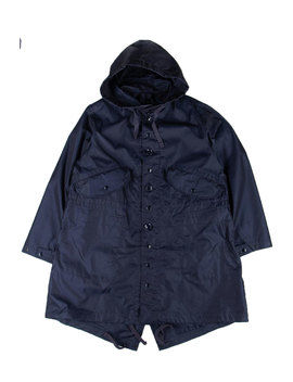 Highland Parka   Navy Pc Indescent Twill by Engineered Garments