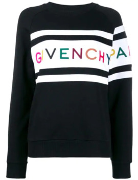 Logo Embroidered Sweatshirt by Givenchy