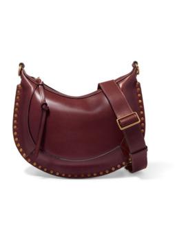 Naoko Studded Leather Shoulder Bag by Isabel Marant