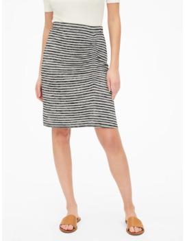 Softspun Ruched Skirt by Gap