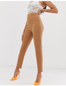 Koco &Amp; K Tailored Pants In Coffee by Pants