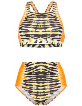 X Speedo Tie Dye Bikini by House Of Holland