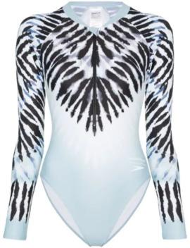 X Speedo Tie Dye Swimsuit by House Of Holland