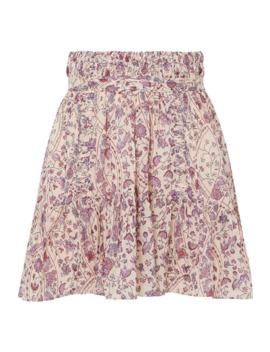 Laraya Pleated Printed Cotton Skirt by Isabel Marant Étoile