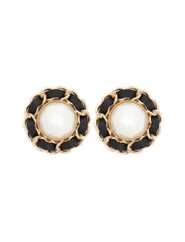 Statement Faux Pearl Stud Earrings by Forever 21