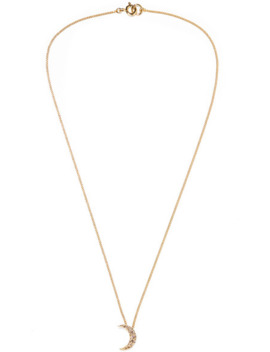Moon Gold Tone Crystal Necklace by Isabel Marant