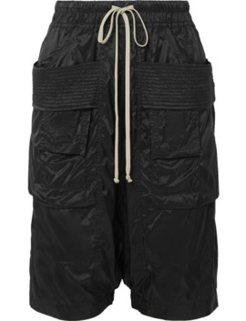 Creatch Shell Shorts by Rick Owens