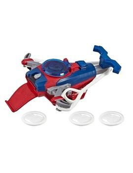 Spider Man Web Shots Disc Slinger Blaster Toy by Man Web Shots Disc Slinger Blaster Toy