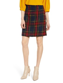 Tweed Miniskirt by Halogen®