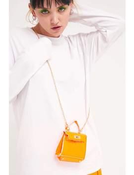 Neon Orange Mini Bag by Jaded London