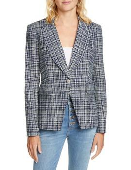 Tweed Cutaway Dickey Jacket by Veronica Beard
