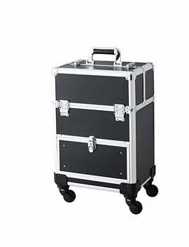 Professional Cosmetic Train Case Aluminum... by Beauty Collector