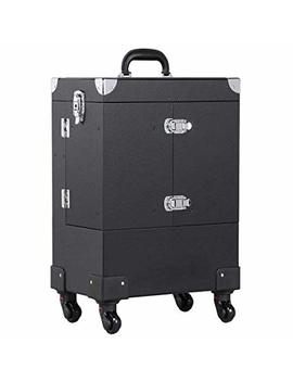 Topeakmart Professional Makeup Train Case... by Topeakmart
