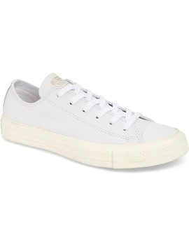 Chuck Taylor® All Star® Luxe Leather Low Top Sneaker by Converse