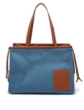 Cushion Large Canvas Tote Bag by Loewe